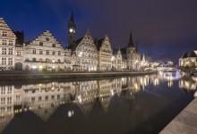 Gent - bij blauw uurtje